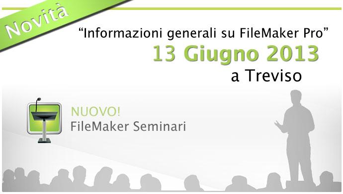 FileMaker seminari a Treviso
