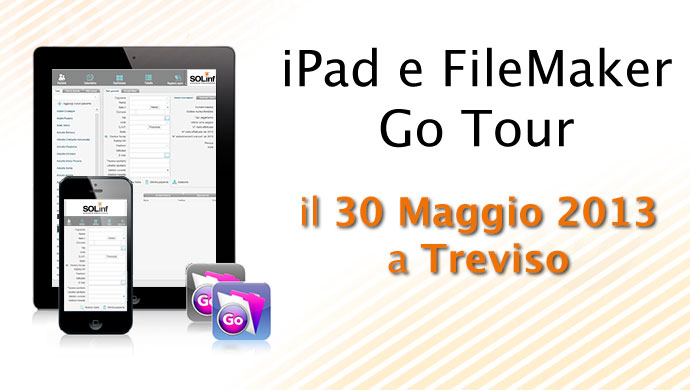 iPad e FileMaker Go Tour