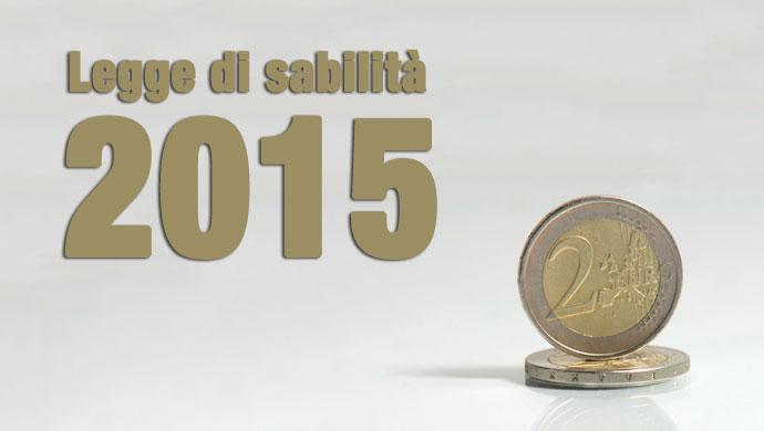Legge di stabilità 2015