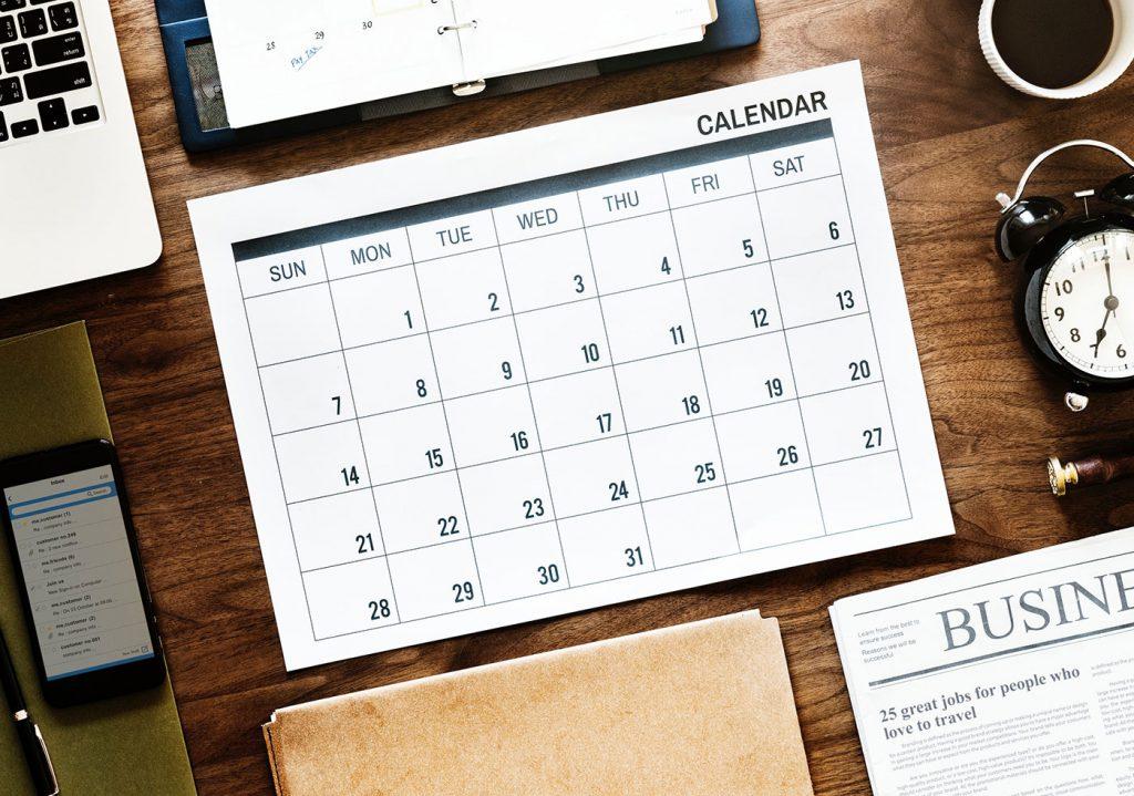 Calendario corsi SOLinf