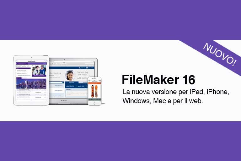 FileMaker 16 le novità